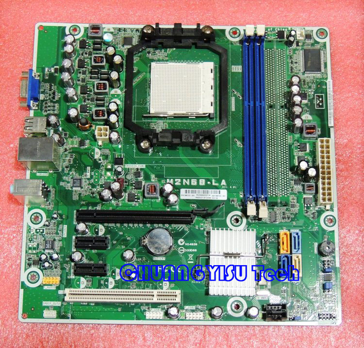 Free shipping CHUANGYISU for M2N68 LA motherboard,586723 001 585742 001,DDR3,AM3,DDR3,work perfectly-in Motherboards from Computer & Office    1