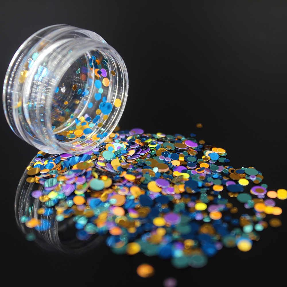 1 Box Nail Art Nails żelowy lakier do paznokci żel zestaw do polerowania do Manicure Semi permanentny lakier do paznokci UV Hybrid Circle