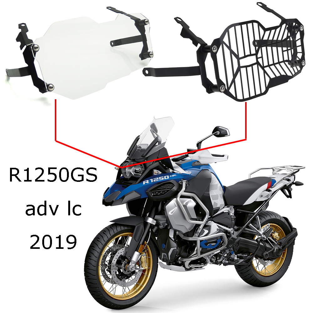 ALL NEW For BMW R1250GS GS R1250 GS Adv LC 2019 Headlight Protector Guard Grill Grille
