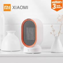 XIAOMI MIJIA VIOMIไฟฟ้าเครื่องทำความร้อนพัดลมเคาน์เตอร์Mini Home Room Handy Fastประหยัดพลังงานอุ่นสำหรับฤดูหนาวPTCเครื่องทำความร้อนเซรามิค