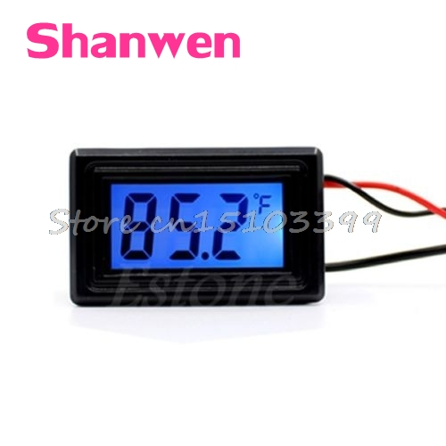 WH5001 Celsius/<font><b>Fahrenheit</b></font> Digital <font><b>Thermometer</b></font> Temperatur Meter Gauge C/F G08 Whosale & DropShip image