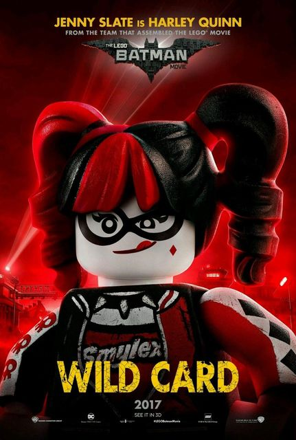 2017 The Lego Batman Movie Jenny Slate Is Harley Quinn Poster 5070cm