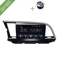 Car Multimedia player 1 Din Android 7.1 Car DVD For Hyundai Elantra 2011 9 2G/32G touch screen Car Radio GPS