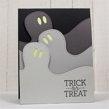 Eastshape Metal Cutting Dies Embossing Stencil Halloween Ghost Card Decoration Paper Cards Deco Crafts Bordure New 2019