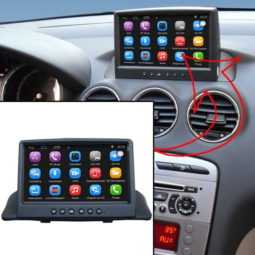 Aggiornato Originale Auto Lettore multimediale di Navigazione GPS Per Auto Vestito per Peugeot 408 Supporto WiFi Smartphone Specchio-collegamento Bluetooth