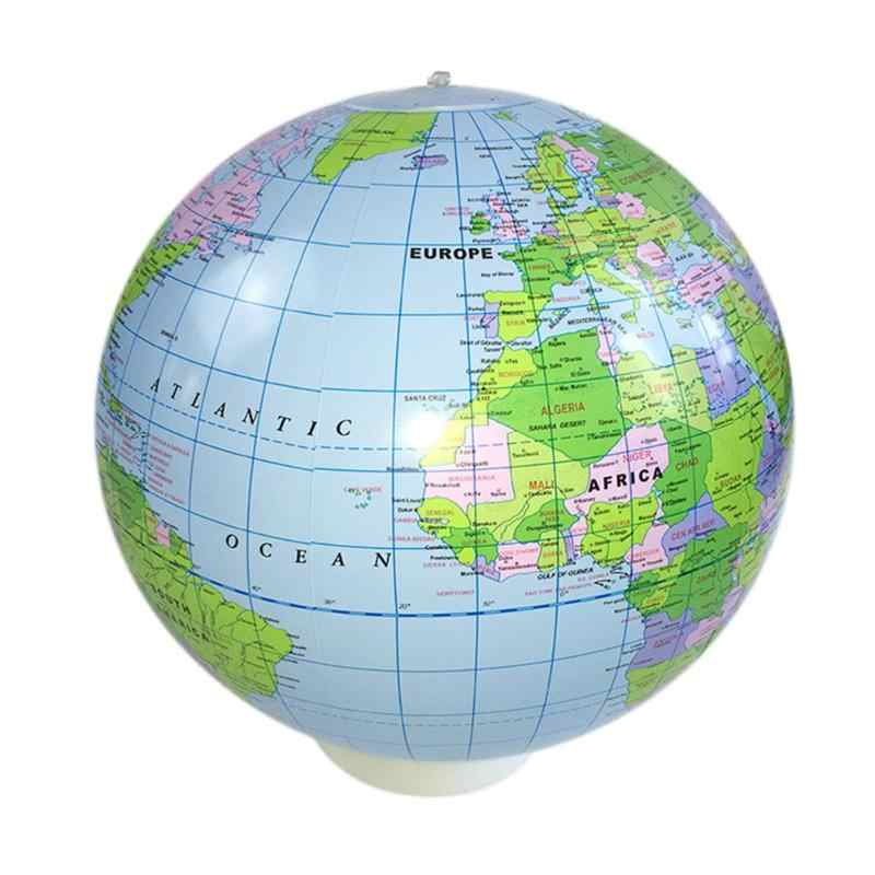 Map Of The Globe Of The World.40cm English Version Pvc Inflatable Globe World Map Balloon Beach Ball Toy Bath Toys For Kids Funny Gift