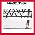Genuine Original New Silver RU Russian Backlit keyboard For Asus N56 N56JN N56JR N56V N56VM N56VZ N76VJ N76VM N76VZ 9Z.N8BBU.N0R
