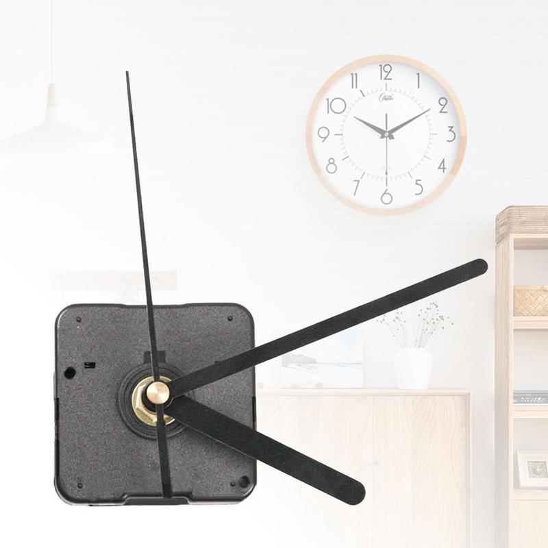 Hands Wall Clock Mechanism DIY Repair Parts High Quality Quartz Clock Movement Mechanism With Hook