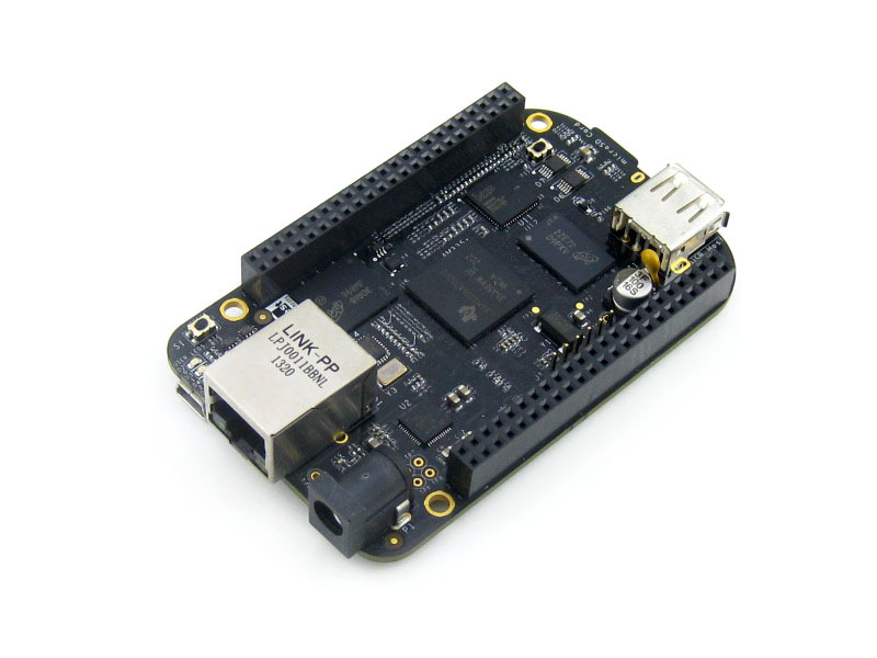 5 pcs/lot BeagleBone Black 1GHz ARM Cortex-A8 512MB DDR3 4GB 8bit eMMC AM3358 Development Board Kit Rev.C from Embest Element14