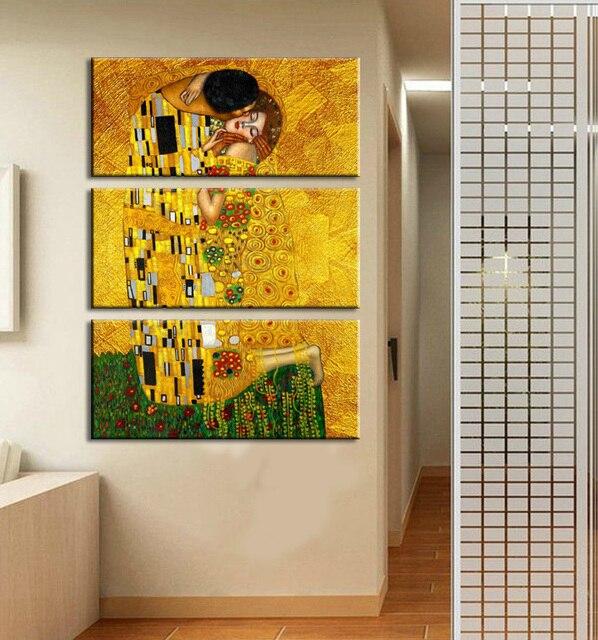 Wall Painting Gustav Klimt Oil Painting On Canvas Wall Art Prints ...