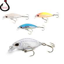 3.5cm/2g Mini Minnow Fishing Lures Hard Floating Wobblers Crankbait Suspension Artificial Baits Fishing Supplies LD-134