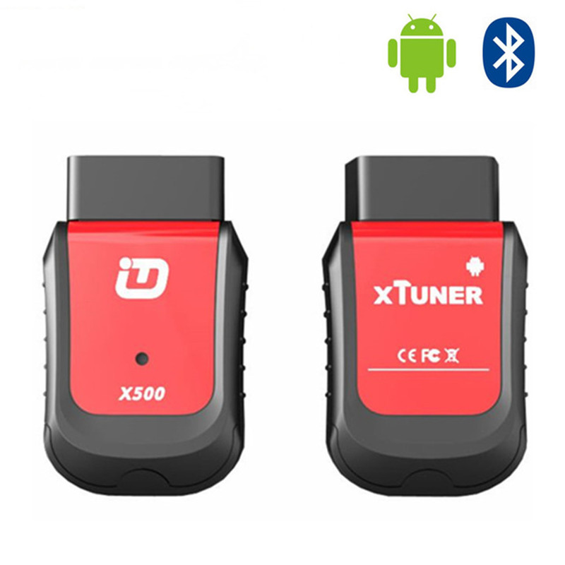 New Arrival XTUNER X500 Bluetooth Special Function Diagnostic Tool works with Android Phone better than XTOOL X100 PAD hot new xtuner e3 easydiag wireless obdii full diagnostic tool with special function pefect replacement for vpecker easydiag