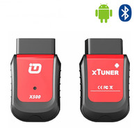 New Arrival XTUNER X500 Bluetooth Special Function Diagnostic Tool works with Android Phone better than XTOOL X100 PAD