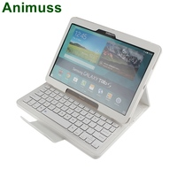 Remote shutter wireless bluetooth keyboard case for Galaxy Tab S 105 T800 805