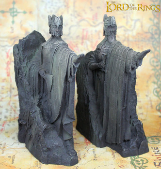ลอร์ดออฟเดอะริงส์ Hobbit ที่สาม Gate of Gondor Argonath รูปปั้น Bookends ตกแต่งบ้านอะนิเมะแฟนของขวัญ