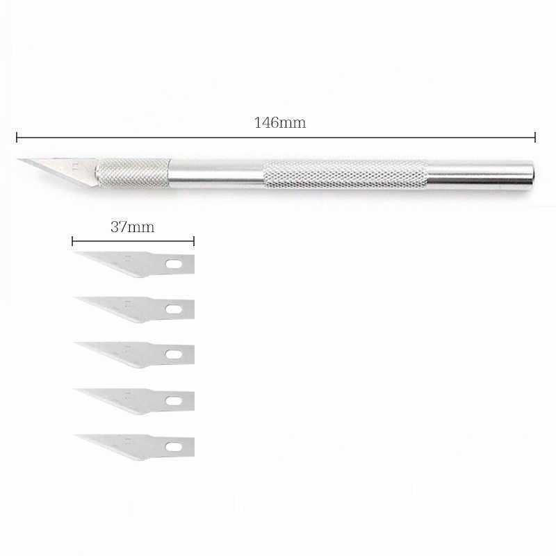 6 قطعة سكين نحت الدقة قطع هواية سكين للبوليمر الفخار النمذجة فيمو ورق الحرف نحت الطين النحت السيراميك