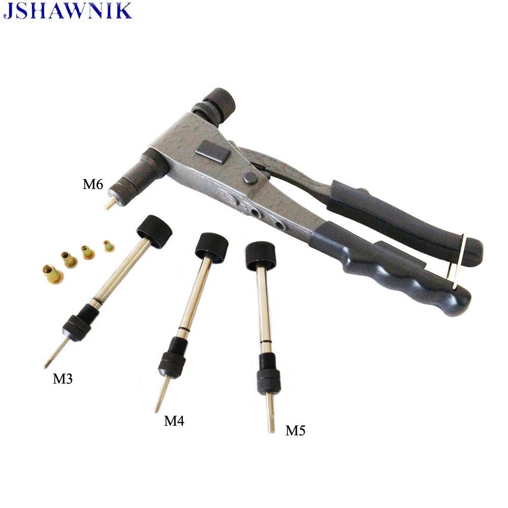 M3 M4 M5 M6 Precision One Hand Nut Gun Rivet Nut Tool