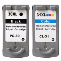 2 X Ink Cartridges For Canon PG 30 CL 31 PG 30 CL 31 PG30 CL31
