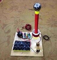 Sgtc Gap Discharge Tesla Coil High Voltage Generator Artificial Lightning