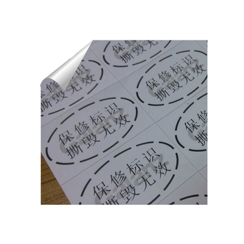 cheap round transparent label sticker for printing
