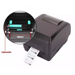 Image 4 - Xprinter ישירה ברקוד העברת מדבקת מדפסת רוחב 110mm עם סרט חינם מדפסת עבור תכשיטי תגי בגדים