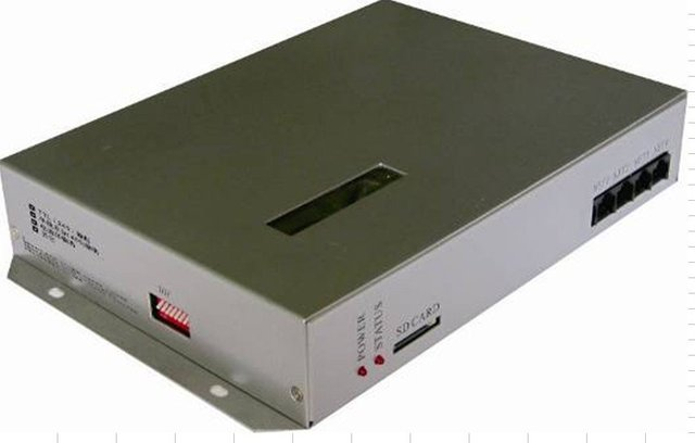 T-300K;SD card led pixel controller;AC85-265V input;can control more than 6000pixels via PC,8 ports output