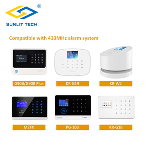 Image 5 - Wireless חיות מחמד חסינות Pir חיישן גלאי בית חכם מערכת אזעקת 433MHz חיישן תנועה עם לחבל Swtich עבור Wifi GSM g90B