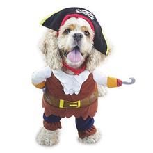 NACOCO Pet Dog Costume Pirates of The Caribbean Style cat Costumes цена