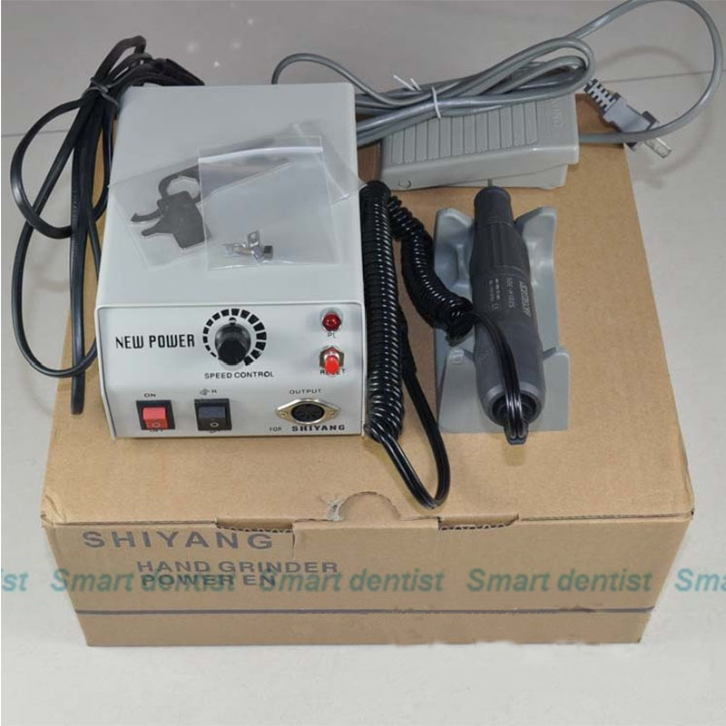 NEW Dental MARATHON Micromotor Polisher Machine S6+35000 35K RPM Handpiece 220V/110V dental lab marathon handpiece 35k rpm electric micromotor polishing drill burs
