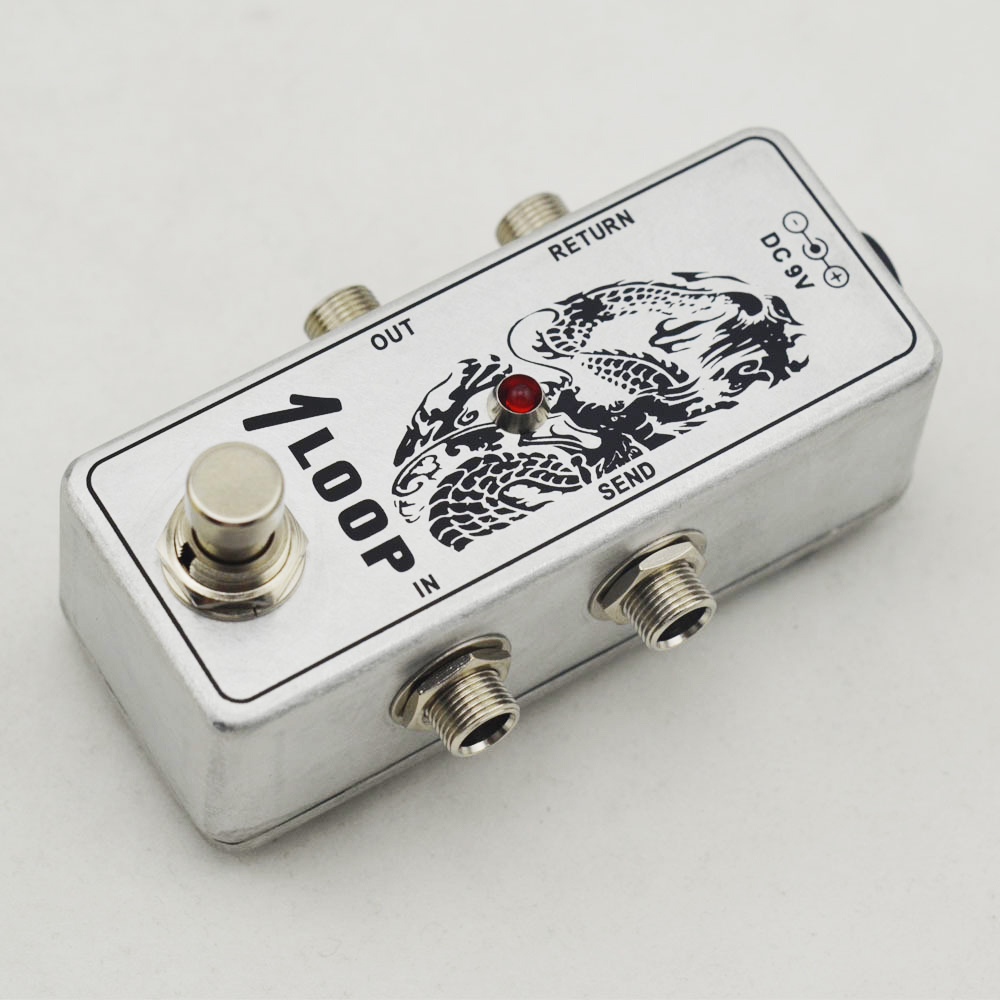 Mini Guitar AB Looper Pedal Switch Box Ture Bypass Channel Selection Pedal in Guitar Parts Accessories from Sports Entertainment