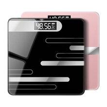Весы для ванной напольные весы для тела зарядка через usb ЖК-дисплей бытовые электронные цифровые весы Бариатрический инструмент