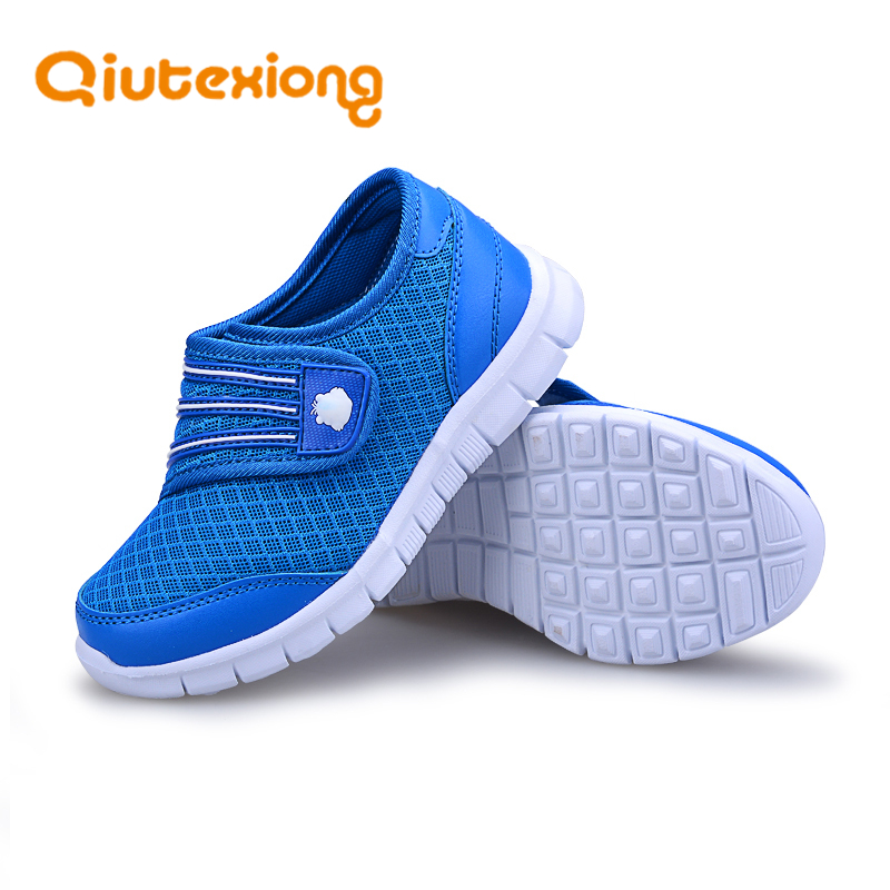 QIUTEXIONG Children Shoes Girls Sport Shoes Kids Running Sneakers For Boys Shoes Spring 2018 Breathable Student School Footwear ulknn girls sneakers for kids shoes children casual shoes boys sneakers girls sport trainers running footwear school fashion