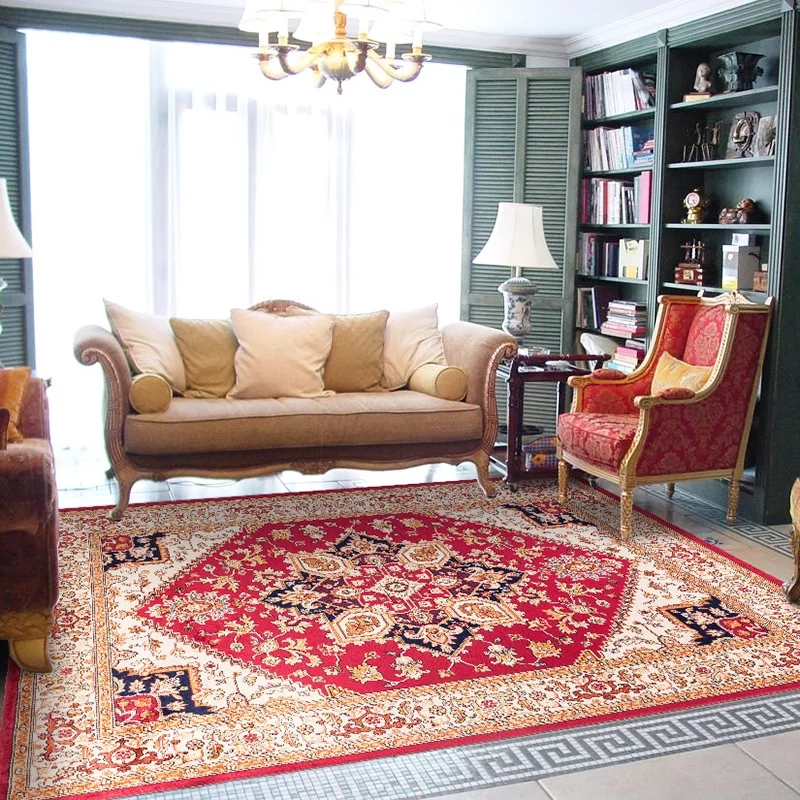 Living Room Persian Rug: Big Size Persian Carpet Living Room Coffee Table Carpet
