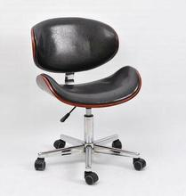 Large modern simple modern simple style without armrest solid wood computer chair. Home swivel chair. Desk study chair lift .011