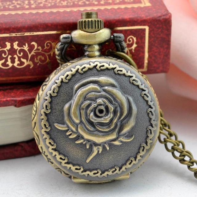 Reloj bolsillo Vintage Bronze Mens Necklace Watches Pocket Watch Best Gifts for