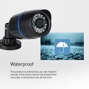 Image 3 - 1920x1080 P 2.0MP LED الأشعة تحت الحمراء مقاوم للماء رصاصة كاميرا IP في الهواء الطلق CCTV للرؤية الليلية P2P نظام الأمن المراقبة بالفيديو HD كام