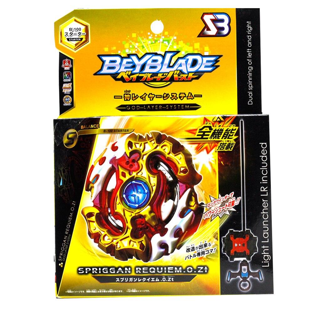 Beyblade Scoppiò B-/B-86 Starter Spriggan Requiem. 0.Zt Leggenda Spriggan. 7. Mr Bayblade Filatura Bleyble Burst