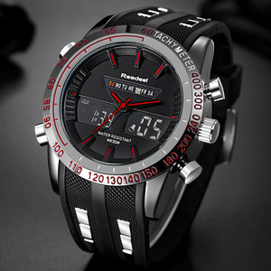 Image 4 - Readeel Brand Sport Watch Mens Watches Top Brand Luxury Men Wrist Watch Waterproof LED Electronic Digital Male relogio masculino