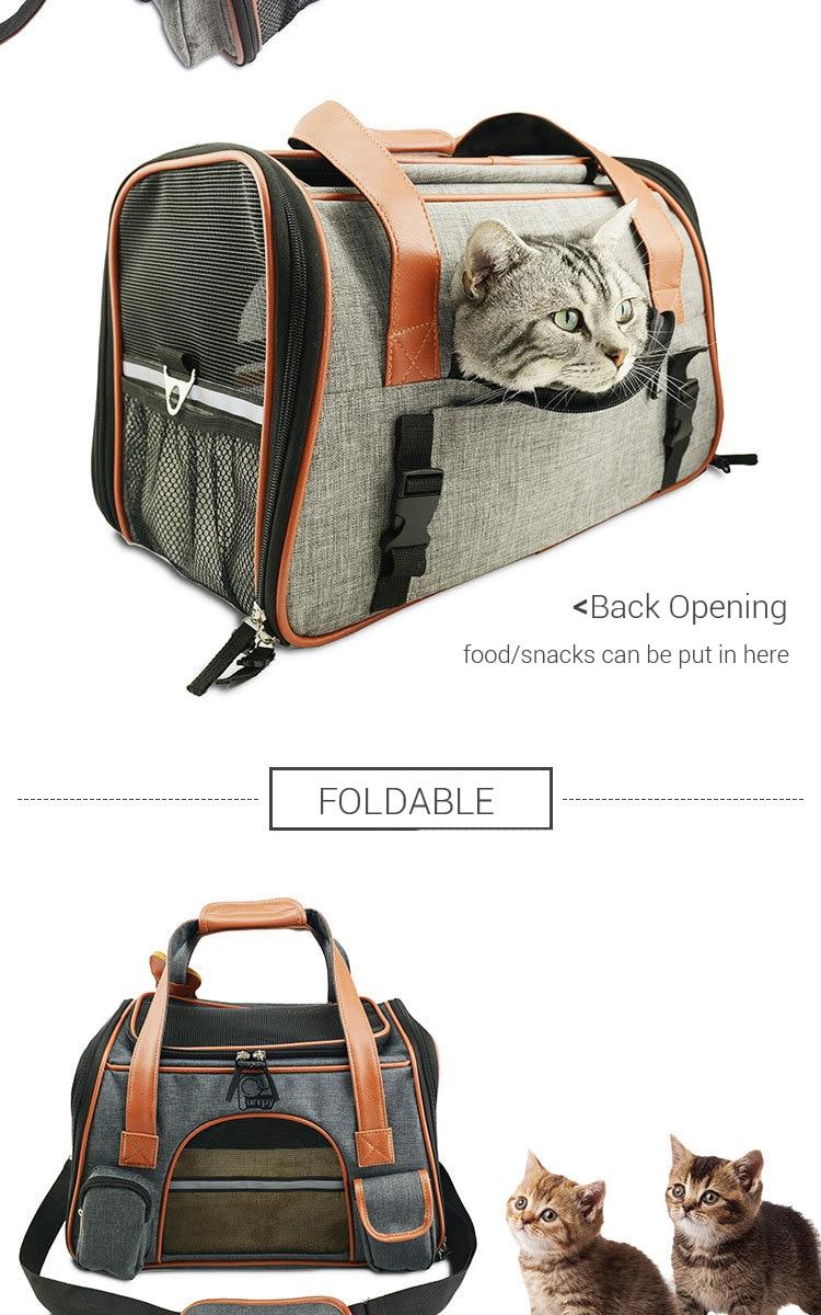 Breathable K9 Dog Backpack Carrier 9