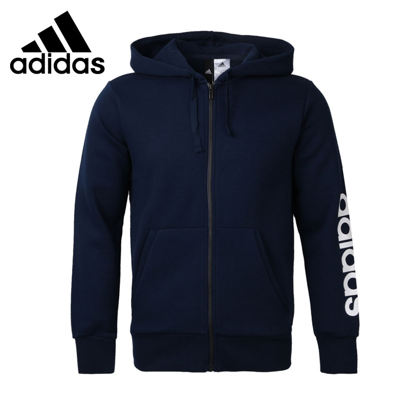где купить  Original New Arrival 2017 Adidas ESS LIN FZHOODB Men's  jacket Hooded  Sportswear  по лучшей цене