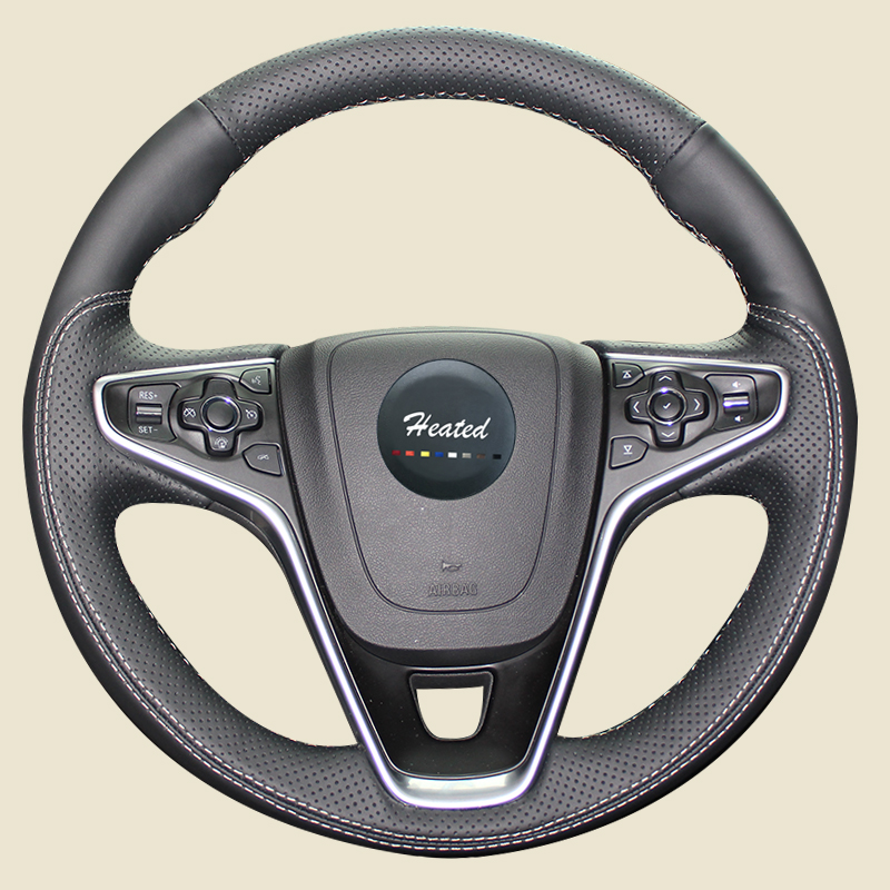 Genuine Nappa Leather car steering wheel cover for Buick Regal Opel Insignia 2014 2015 цены