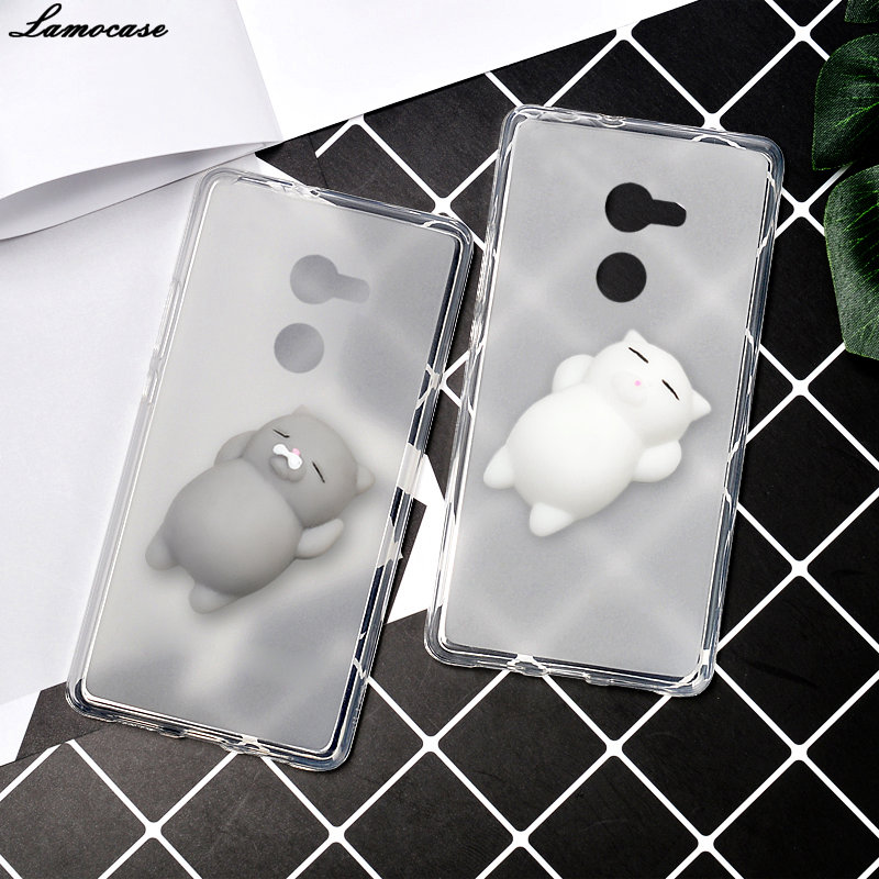 Case For Alcatel A3 A 3 5046 5046D 5046X 5046Y Back Cover Silicone Soft TPU Phone Bags Animal Cat Claw Squishy Protective Cases