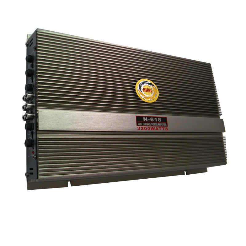 Супер-мощный 3800 Вт 4CH 12 в автомобильный усилитель HiFi высококачественный стерео громкоговоритель автомобильный аудио сабвуфер бустеры