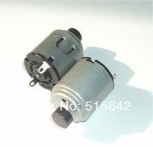 the R260 dc motor with Vibration polishing iron run in 3V-9V
