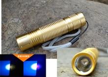 Brand New Aluminum Alloy 365NM UV Flashlight/Torch for Scorpion Hunting/Leakage Detecting/Nail Polishin