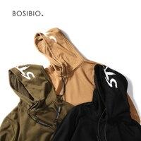 NEW Fashion Autumn Men Sweatshirts Oversized Hip Hop Streetwear Hoodies Casual Solid Funny Hooded Side Zipper