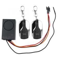 Zmodyfikowany litowo elektryczny Alarm samochodowy bezprzewodowy zdalnie sterowany Alarm nadaje się do 48V ~ 64V elektryczny zamek sterujący Alarm wibracyjny B1 tanie tanio DOACT Inne Metal Built-in Battery 48-64 V 315 433 MHz 5 Modes Adjustable Approx 54x34x21 mm 2 13x1 34x0 83 inch Approx 70x37x14 mm 2 76x1 46x0 55 inch