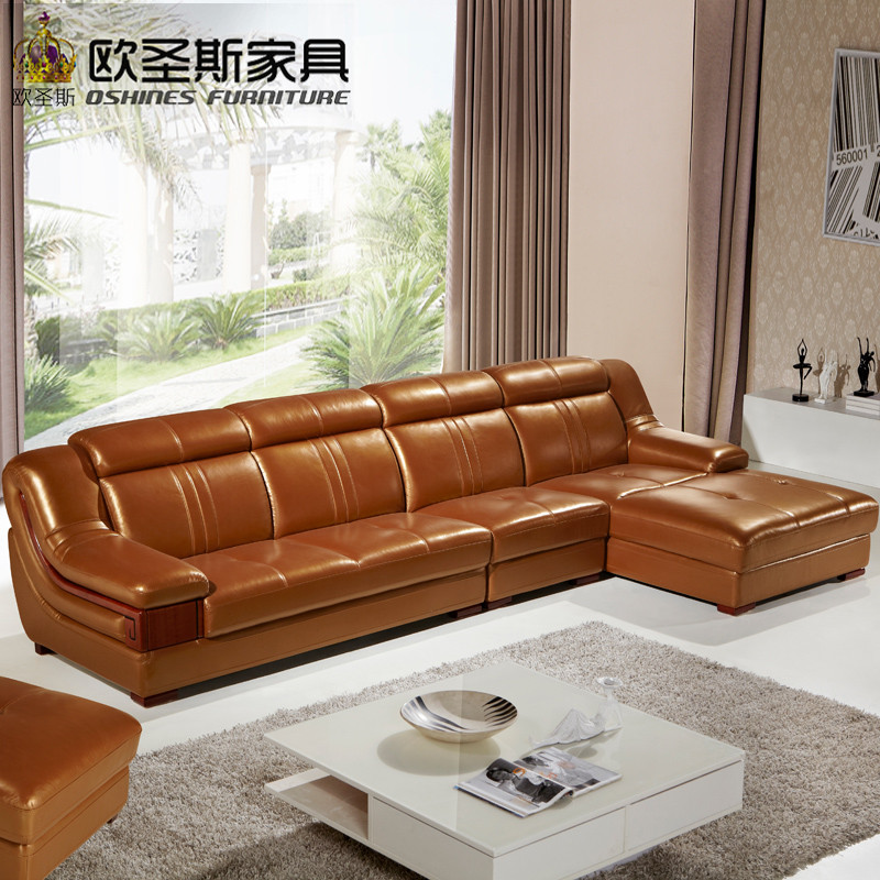 Ordinaire Wooden Decoration L Shape Sofa Furniture Modern Lobby Sofa Design China  Buffalo Leather Funitures Sofa Sets For Living Room 632 In Living Room  Sofas From ...