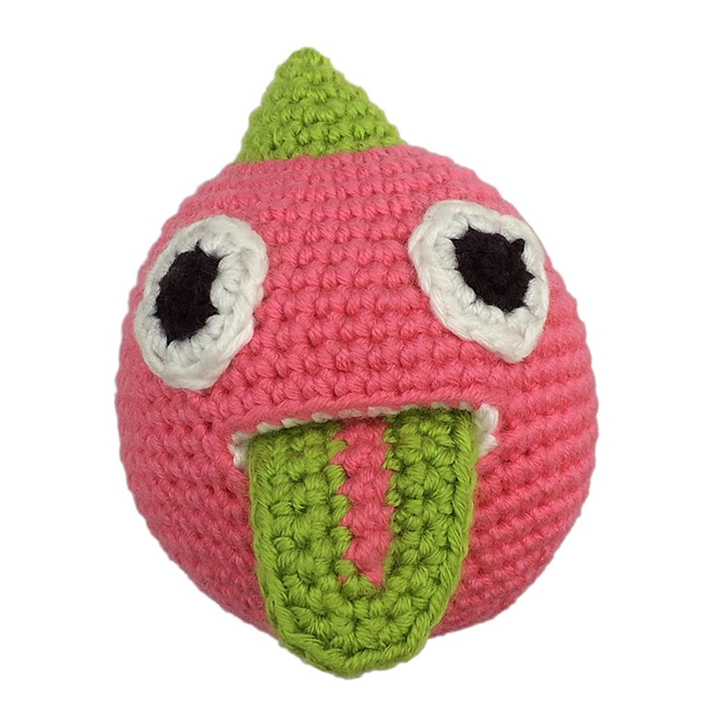 DIY Tomato Doll Crochet Kit for Beginners Hand Knitting Stuffed Toy Handmade
