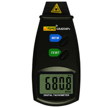 New Style UYIGAO UA6234P + Digital Photo Laser Não-Contato Tacômetro Medidor  de RPM Do a9df510e0b